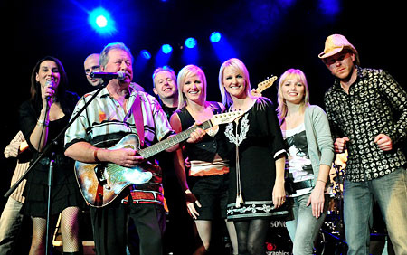 NICKI GILLIS, JULIAN SAMMUT, LUCKY STARR, BOB HOWE, LEE and PAULA BOWMAN, KAYLAH ANNE, SIMON ROSS