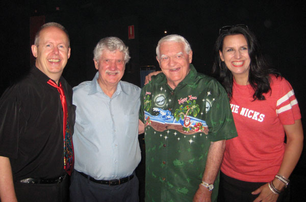 BOB HOWE, GEORGE BOYER, KENNY KITCHING, NICKI GILLIS
