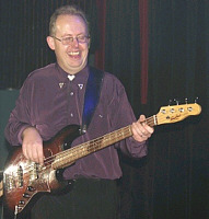 THE MIGHTY GUYS Bob on bass