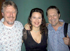 BRYEN WILLEMS, AUDREY AULD and BILL CHAMBERS