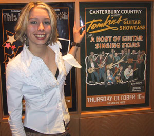 Kim MacKenzie says come to the show on Thursday 16th Oct 2003