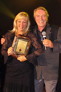 Frank Ifield and Stacey Morris