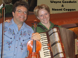 Wayne Goodwin and Naomi Coggan