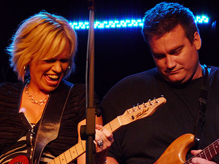 Beccy Cole and Duncan Toombs