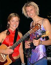 Nicole Brophy and Jodi Moore